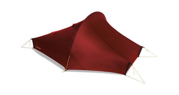 Nordisk Telemark tunneltent 1, ultra light weight rood